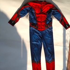 Marvel Spiderman Muscle Chest Boy's Costume Small